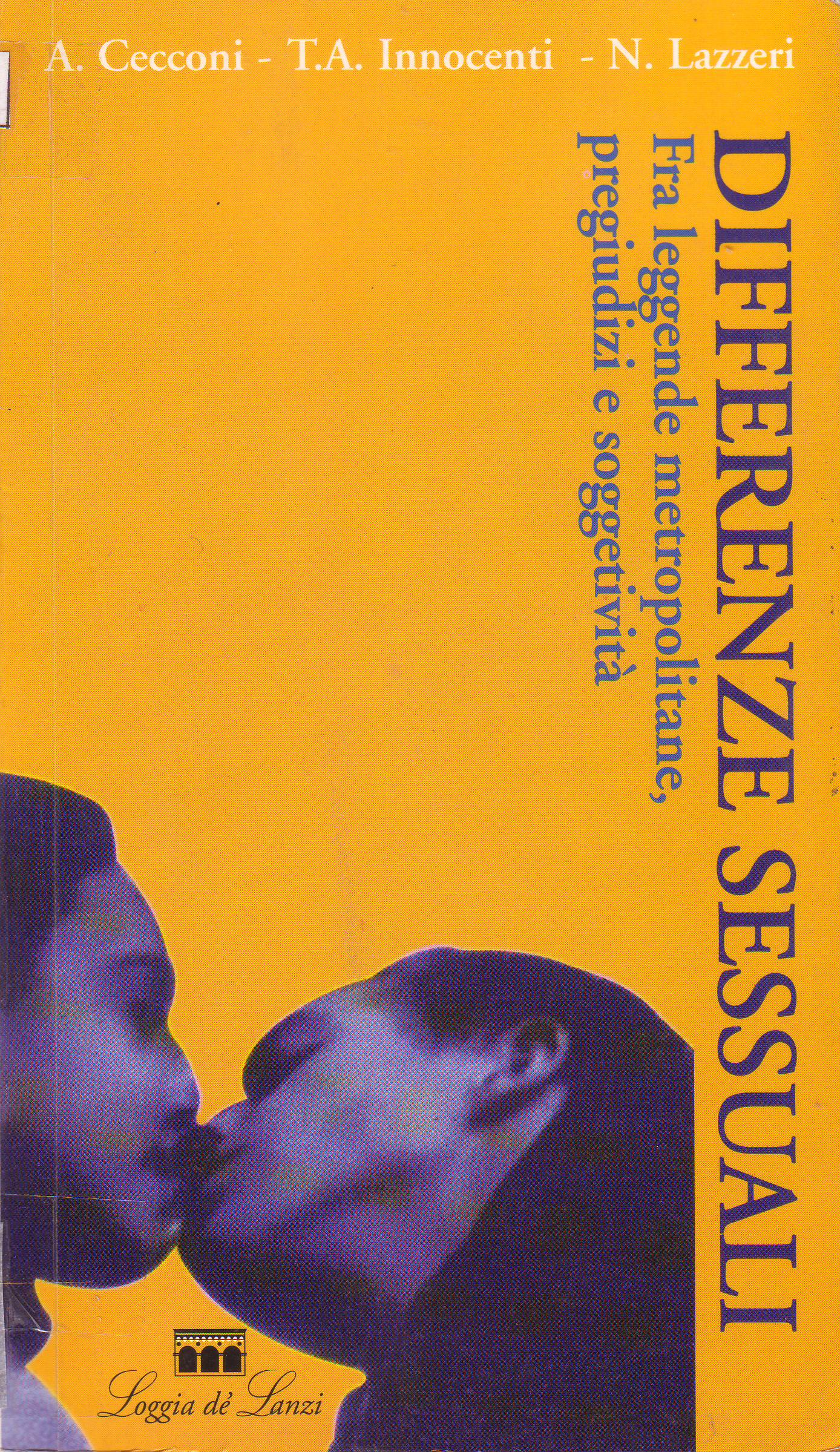 Copertina del libro Differenze sessuali